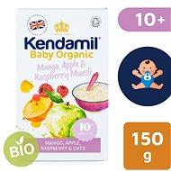 Kendamil BIO/Organická ovesná kaše s ovocem mango, jablko, malina – 150 g - Nemléčná kaše