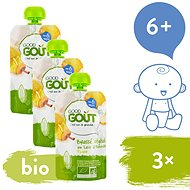Good Gout BIO Almond Dessert with Pear 3 × 90g - Baby Food