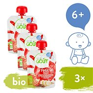 Good Gout BIO Strawberry Breakfast 3 × 70g - Baby Food