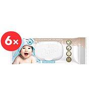 DADA Cotton Sensitive 6× 64 ks - Dětské vlhčené ubrousky