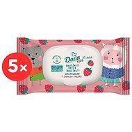 DADA Dětský vlhčený toaletní papír Kids 5× 60 ks - Toaletní papír