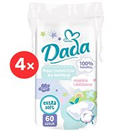 DADA Kosmetické ubrousky pro děti 4× 60 ks - Ubrousky