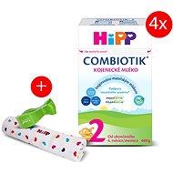 HiPP Bio Combiotik MKV 2 (4× 600 g) + plena + kolíček - Kojenecké mléko