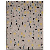 Petite&Mars Harmony Happy Triangles 80×100 cm - Deka do kočárku