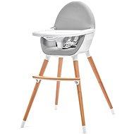 Kinderkraft FINI grey - Jídelní židlička