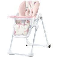 Kinderkraft YUMMY pink - Jídelní židlička