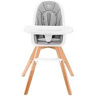 Kinderkraft 2v1 Tixi Grey - Jídelní židlička