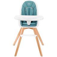 Kinderkraft 2v1 Tixi Turquoise - Jídelní židlička
