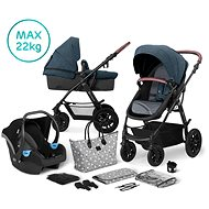 Kinderkraft 3-in-1 XMOOV 2020 Denim - Baby Buggy