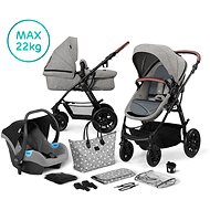 Kinderkraft 3-in-1 XMOOV 2020 Grey - Baby Buggy