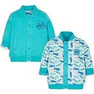 Gmini Bagr kabátek oboustranný 80 - Kabátek pro miminko