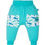 Gmini Bagr kalhoty s kapsami bez ťapek 98 - Kalhoty pro miminko