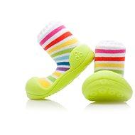 ATTIPAS RainBow Green vel. XL - Dětské botičky