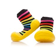 ATTIPAS RainBow Yellow vel. L - Dětské botičky