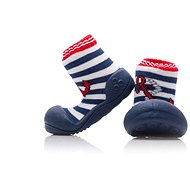 ATTIPAS Boots size Marine Avel. M01-Anchor (red) size S (96-108 mm) - Baby booties