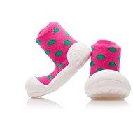 ATTIPAS Polka Dot Pink - Dětské boty