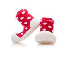 ATTIPAS Polka Dot Red - Dětské boty