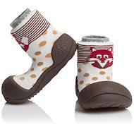 ATTIPAS Zoo Brown vel. L - Dětské boty