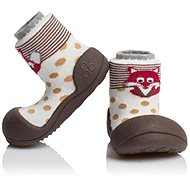 ATTIPAS Zoo Brown vel. XL - Dětské botičky