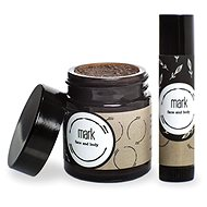 MARK SCRUB Coffee Lips Peeling and Balm Set - Balzám na rty