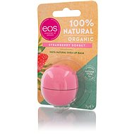 EOS Sphere Lip Balm 100% Natural Organic Strawberry Sorbet 7g - Lip Balm