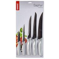 BANQUET Sada nožů SAPHYR, 5 ks, šedá - Sada nožů