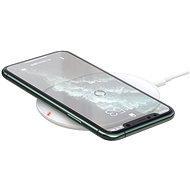 Baseus Cobble Wireless Charger 15W White - Bezdrátová nabíječka