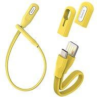 Baseus Bracelet Cable USB to Type-C (USB-C) 0.22m Yellow - Datový kabel