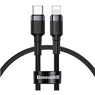 Baseus Halo Data Cable USB-C to iPhone Lightning PD 18W 1m Black - Datový kabel