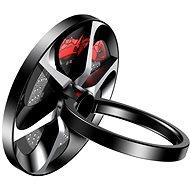 Baseus Wheel Ring Bracket for Smartphones and Tablets Black - Držák na mobilní telefon