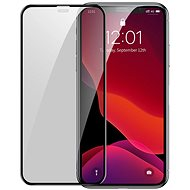 Baseus Full-Screen Curved Privacy Tempered Glass (2 ks) pro iPhone X / XS / 11 Pro Black - Ochranné sklo