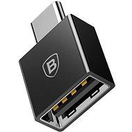 Baseus USB-C (M) to USB (F) OTG Adapter Converter Black - Redukce
