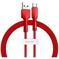 Baseus Silica Gel Cable USB to Type-C (USB-C) 2m Red - Datový kabel