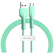 Baseus Silica Gel Cable USB to Type-C (USB-C) 1m Green - Datový kabel