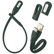 Baseus Bracelet Cable USB to Type-C (USB-C) 0.22m Blackish Green - Datový kabel