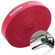 Organizér kabelů Baseus Rainbow Circle Velcro Straps 3m Red - Organizér kabelů