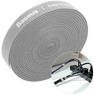 Organizér kabelů Baseus Rainbow Circle Velcro Straps 3m Gray