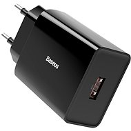 Nabíječka do sítě Baseus Speed Mini Quick Charge 3.0 18W Black