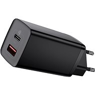 Nabíječka do sítě Baseus GaN2 Lite Quick Charger USB + USB-C 65W Black