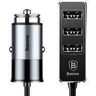 Baseus Enjoy Together 4x USB Patulous Car Charger 5.5A Dark gray - Nabíječka do auta