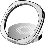 Baseus Privity Ring Bracket Silver - Držák na mobilní telefon