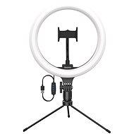 Baseus Live Stream Holder Ring Light Selfie Tripod Black - Držák na mobilní telefon