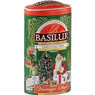 BASILUR Vintage Christmas Tree Tin, 100g - Tea