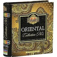 BASILUR Book Orient Assorted II Sheet Tin 32 Gastro Bags - Tea
