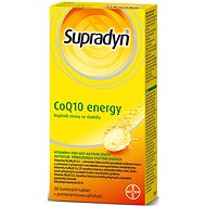 Supradyn CoQ10 Energy (30 šumivých tablet)  - Doplněk stravy