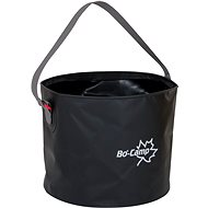 Bo-Camp Collapsible Bucket, 9l, Black - Camping Utensils
