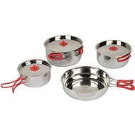 Bo-Camp Set of pans Travel 4 Pieces - Kempingové nádobí