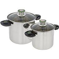 Bo-Camp Cookware set Elegance Compact 2 Stainless steel - Kempingové nádobí