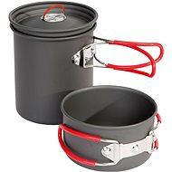 Bo-Camp Cookware set Explorer 2 pcs Hard anodized ALU