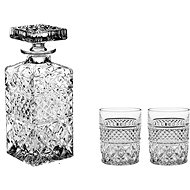 Bohemia Crystal Whisky set 3ks MADISON - Whisky set